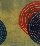 Rings Series Monoprints