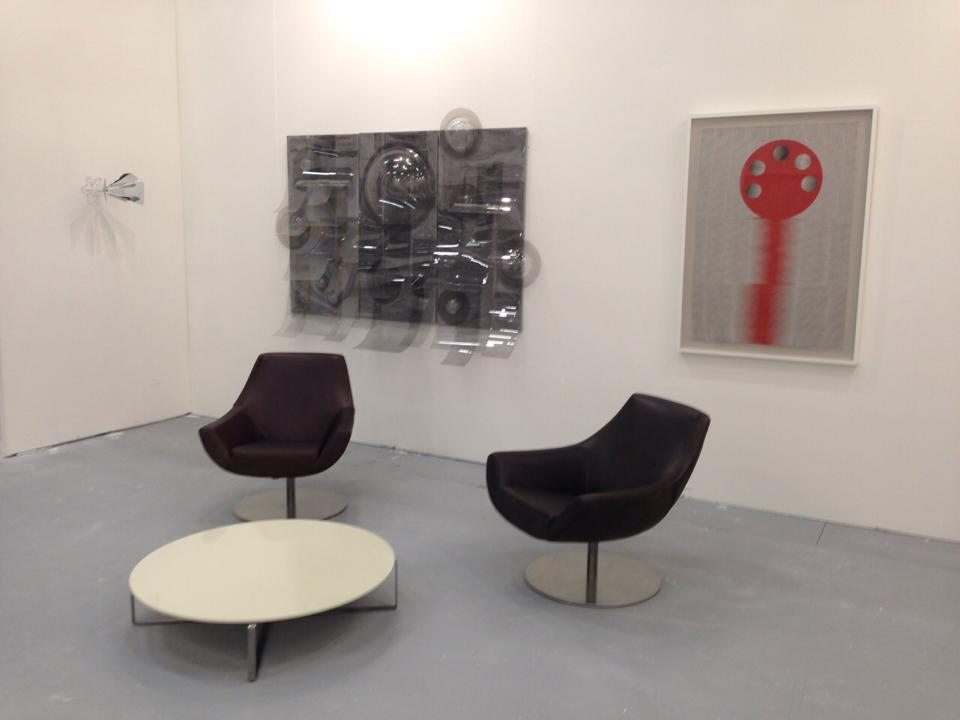 Orna Feinstein at Artefiera 2015
